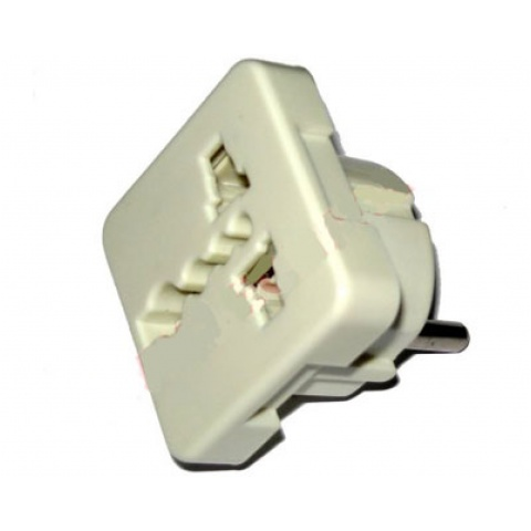 ADAPTOR AC WT.PL-GN. ANG eco