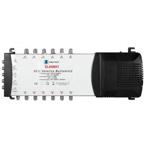 MULTISWITCH CABLETECH 5/12