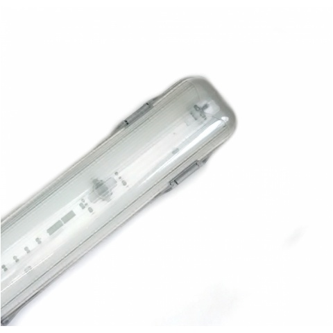 Oprawa hermet.do LED LINEAR DXC113: 1x120cm ryflow