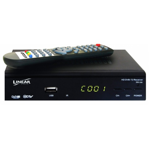 Tuner DB-100 LINEAR-cyfr.TV naziem. SET TOP BOX