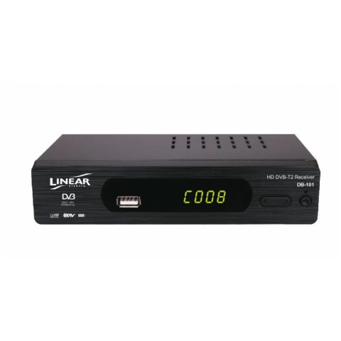 Tuner DB-101 LINEAR-cyfr.TV naziem. SET TOP BOX